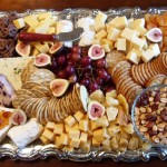 Chesse tray with dried fruit and nuts deluxe